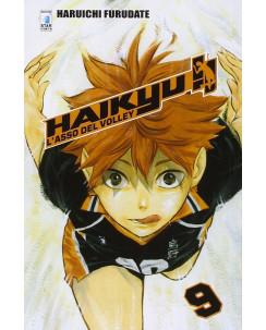 Haikyu L'Asso del Volley n. 9 di Haruichi Furudate ed. Star Comics NUOVO