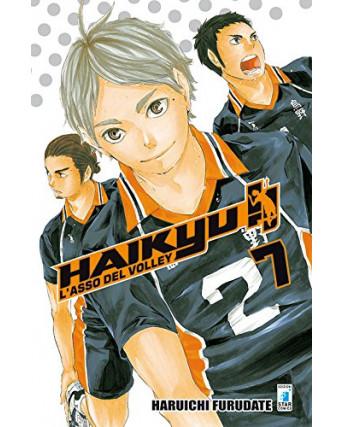 Haikyu L'Asso del Volley n. 7 di Haruichi Furudate ed. Star Comics NUOVO