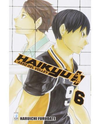Haikyu L'Asso del Volley n. 6 di Haruichi Furudate ed. Star Comics NUOVO