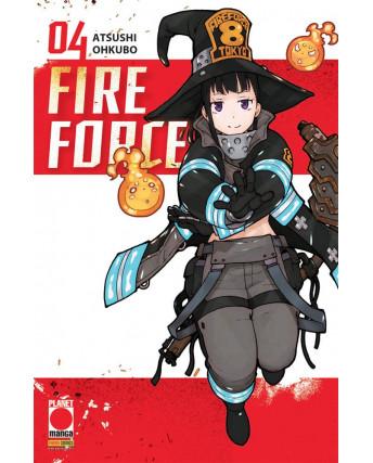Fire Force  4 di Atsuhi Ohkubo RISTAMPA ed. PANINI