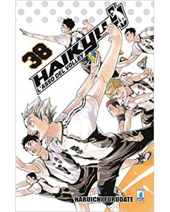 Haikyu L'Asso del Volley n. 38 di Haruichi Furudate ed. Star Comics NUOVO