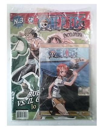 One Piece Magazine n. 3 : DVD Enciclopedia Variant Del Edition con fotogrammi