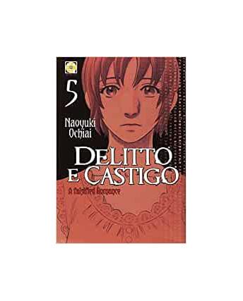 Delitto e Castigo a falsified Romance  5 di Naoyuki Ochiai ed.Goen NUOVO