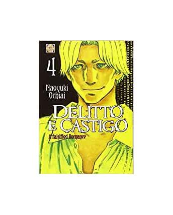 Delitto e Castigo a falsified Romance  4 di Naoyuki Ochiai ed.Goen NUOVO