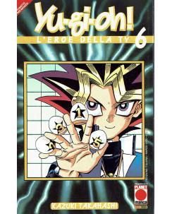 Yu-Gi-Oh! n.  6 l'eroe della TV di Kazuki Takahashi ed.Planet Manga