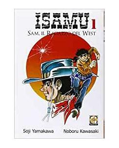 Isamu Sam il ragazzo del West  1 di Kawasaki e Yamakawa ed.Goen NUOVO