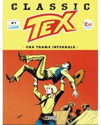 Classic TEX  7 a colori una trama infernale ed.Bonelli