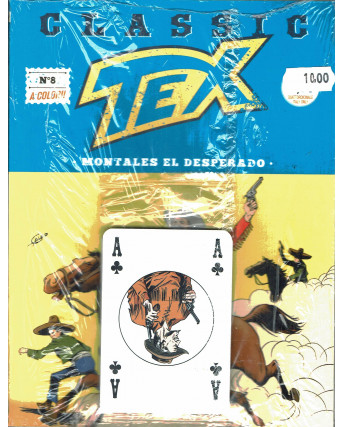 Classic TEX  8 a colori Montales el desperado GADGET carte ed.Bonelli