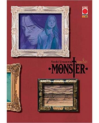 Monster Deluxe  8 di 9 ristampa di Naoki Urasawa ed. Panini