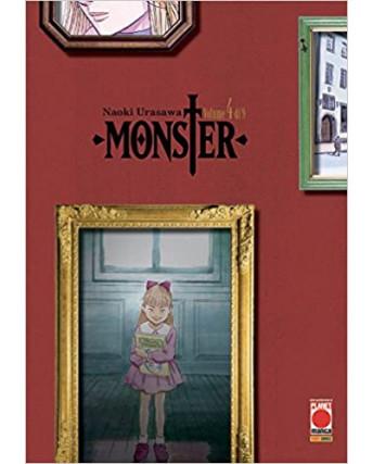 Monster Deluxe  4 di 9 ristampa di Naoki Urasawa ed. Panini