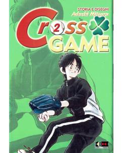 Cross Game n. 2 di Mitsuru Adachi  ed.FlashBook