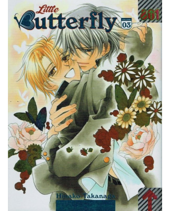 Little Butterfly N. 3 Yaoi di H.Takanaga NUOVO ed.MagicPress