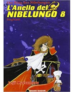 L'Anello Del Nibelungo di Leiji Matsumoto N. 8 Ed. Hazard