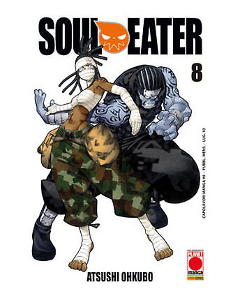 Soul Eater n. 8 di Atsushi Ohkubo - Prima Ristampa ed.Panini