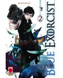 Blue Exorcist n. 2 di Kazue Kato ristampa ed.Panini
