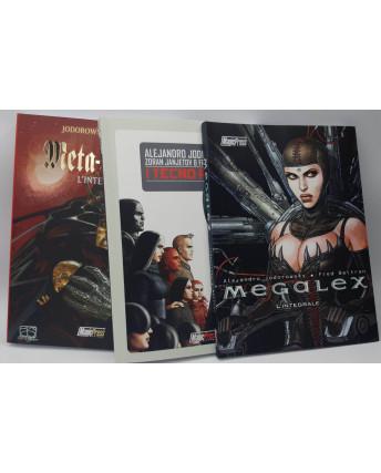 Ciclo Casta dei Meta Baroni + Megalex + Tecnopadri  di Jimenez Jodorowsky NUOVI