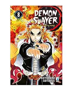 Demon Slayer  8 Kimetsu no Yaiba di K.Gotouge ed.Star Comics NUOVO
