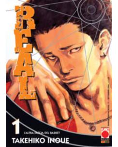 Real n. 1 di Takehiko Inoue aut.Slam Dunk  Vagabond Ristampa Planet Manga