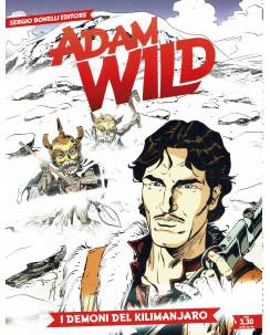 Adam Wild n.11 i demoni del Kilimanjaro di Manfredi ed. Bonelli