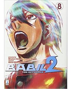 BABIL 2 the Returner  8 di Noguchi Yokoyama Ed.Star Comics NUOVO