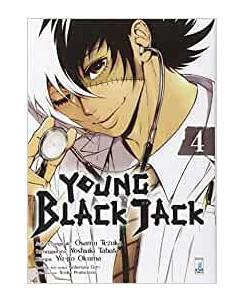 Young Black Jack  4 di Osamu Tezuka ed.Star Comics NUOVO