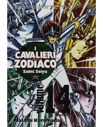 I Cavalieri dello Zodiaco Perfect Ed. n.14 di Kurumada ed.Star Comics