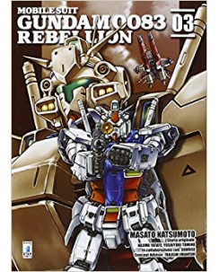Mobile Suit Gundam Rebellion 0083   3 di Masato Natsumoto ed. STAR COMICS