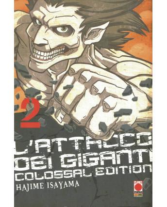 L'Attacco dei Giganti  2 Colossal edition di H.Isayama ed.Panini