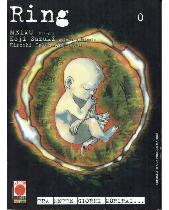 Ring 0 Zero volume unico di Meimu, Suzuki, Takahashi ed.Panini NUOVO