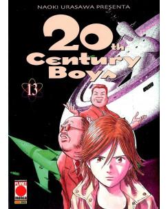 20th Century Boys n. 13 di Naoki Urasawa ed.Panini RISTAMPA