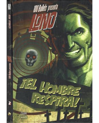 100 BULLETS presenta LONO 1/2 saga COMPLETA di Risso ed.LION SU15