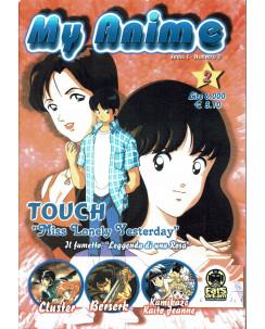 My anime  1 fanzine manga Touch, Lady Oscar, Magica Emi