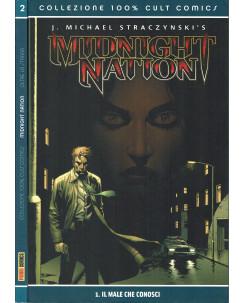 100% CULT COMICS Midnight Nation 1/2 COMPLETA di Straczynski's ed.Panini SU15