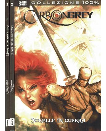 100% Panini Comics:Carbongrey 1/3 serie COMPLETA di Dal Corno ed.Panini FU08