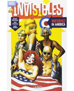 The Invisibles  4: inferno in America di G.Morrison ed.Lion NUOVO SU18