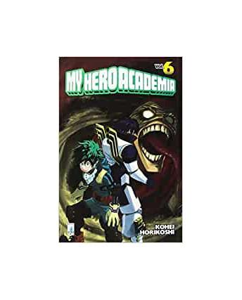 My Hero Academia  6 di K.Horikoshi ed.Star Comics NUOVO