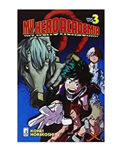 My Hero Academia  3 di K.Horikoshi ed.Star Comics NUOVO