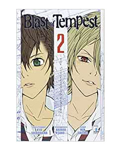 BLAST of Tempest  2 di Shirodaira e Sano ed.STAR COMICS NUOVO
