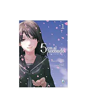 5 Cm al secondo  1 di Shinkai/Seike ed.Star Comics NUOVO