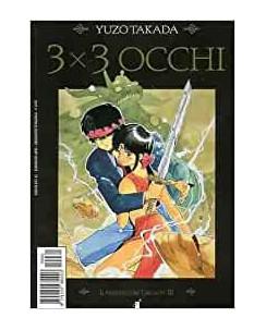 """3X3 OCCHI n. 8 """"il segreto dei Triclopi"""" di YUZO TAKADA ed. STAR COMICS"""