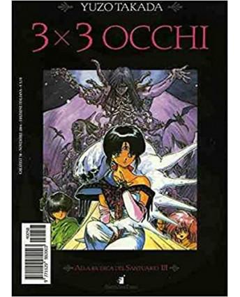 """3X3 OCCHI n. 5 """"alla ricerca del Santuario"""" di YUZO TAKADA ed. STAR COMICS"""