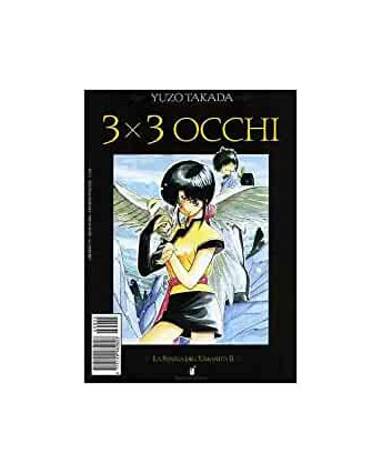 """3X3 OCCHI n. 2 """"la statua dell'umanità"""" di YUZO TAKADA ed. STAR COMICS"""