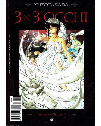 """3X3 OCCHI n. 7 """"il segreto dei Triciclopi"""" di YUZO TAKADA ed. STAR COMICS"""