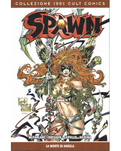 100% cult Comics: Spawn la morte di Angela di McFarlane NUOVO ed. Panini SU27