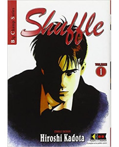 Shuffle 1/6 serie COMPLETA di Hiroshi Kadota ed.FlashBook