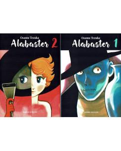 Alabaster 1/2 serie COMPLETA di Osamu Tezuka ed.Hazard