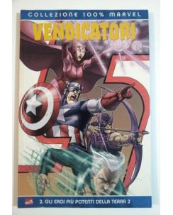 100% Marvel : Vendicatori  2 Eroi Più Potenti Terra di Casey ed.Panini SU29