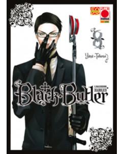 Black Butler n. 8 di Yana Toboso Kuroshitsuji ristampa ed.Panini