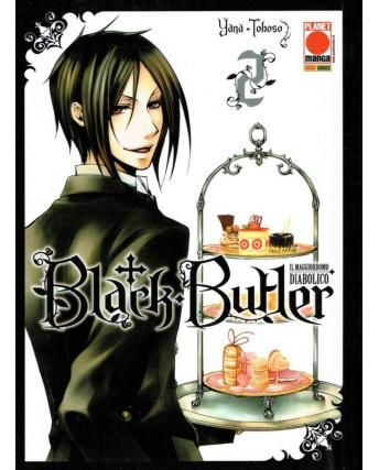 Black Butler n. 2 di Yana Toboso -Kuroshitsuji ristampa ed.Panini