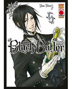 Black Butler n. 5 di Yana Toboso Kuroshitsuji ristampa ed.Panini